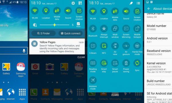 E' arrivato l'aggiornamento Lollipop 5 per il Samsung Galaxy S4 (GT-I9505) !