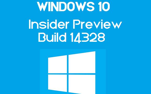 Disponibile al download Windows 10 Insider Preview Build 14328!
