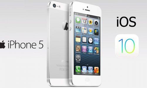 iOS 10.02 su iPhone 5 16 GB. Le nostre impressioni