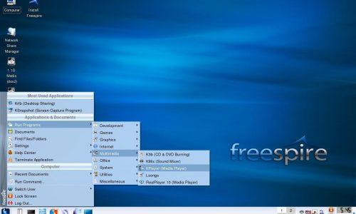FreespireOS, un sistema operativo gratuito alternativo a Windows, MacOS e Linux. [Download]