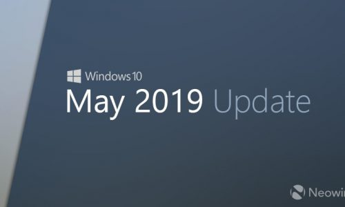 Download Windows 10 May 2019 Update & ISO