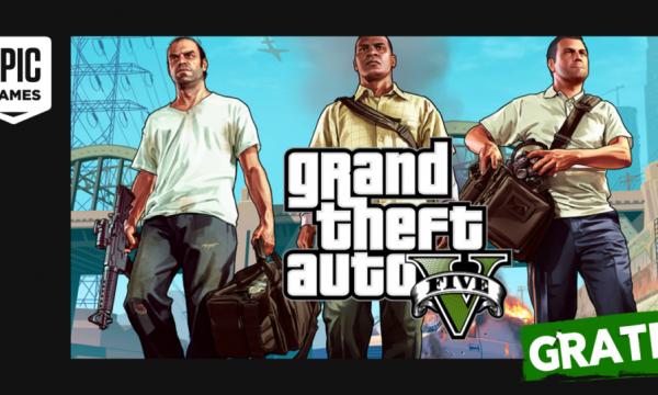 GTA 5 Gratis fino al 21 maggio su Epic Store!